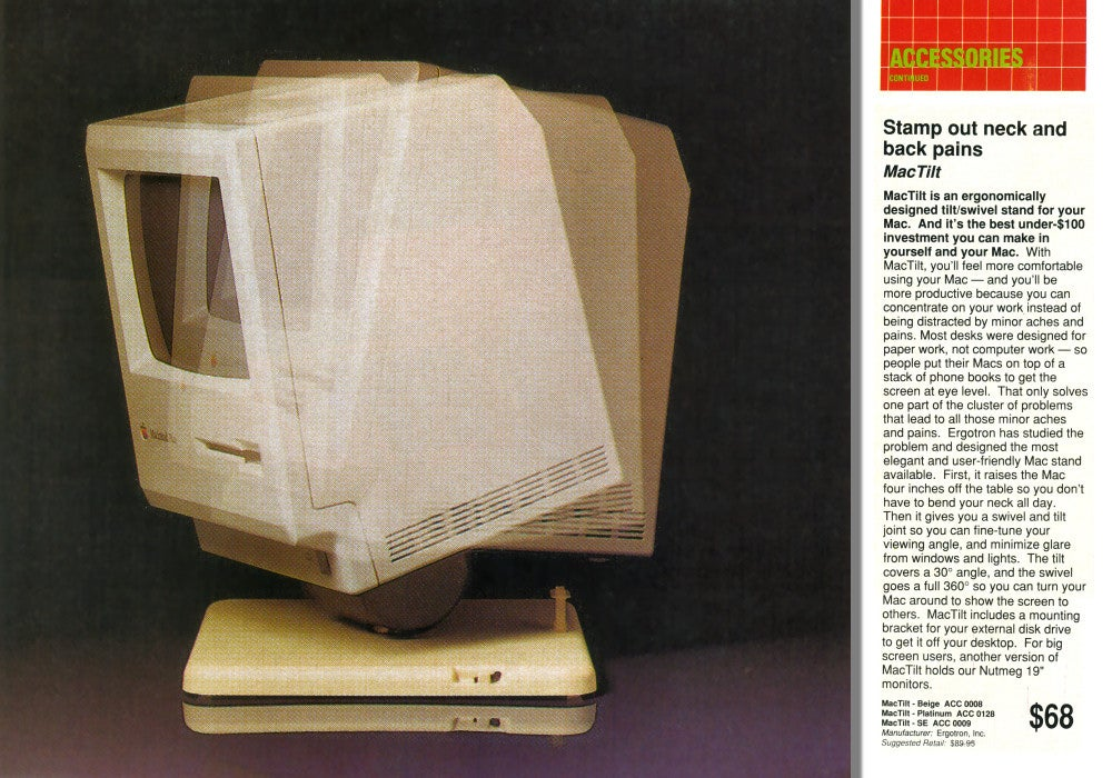 These Classic Macintosh Peripherals Are Absolutely Bonkers