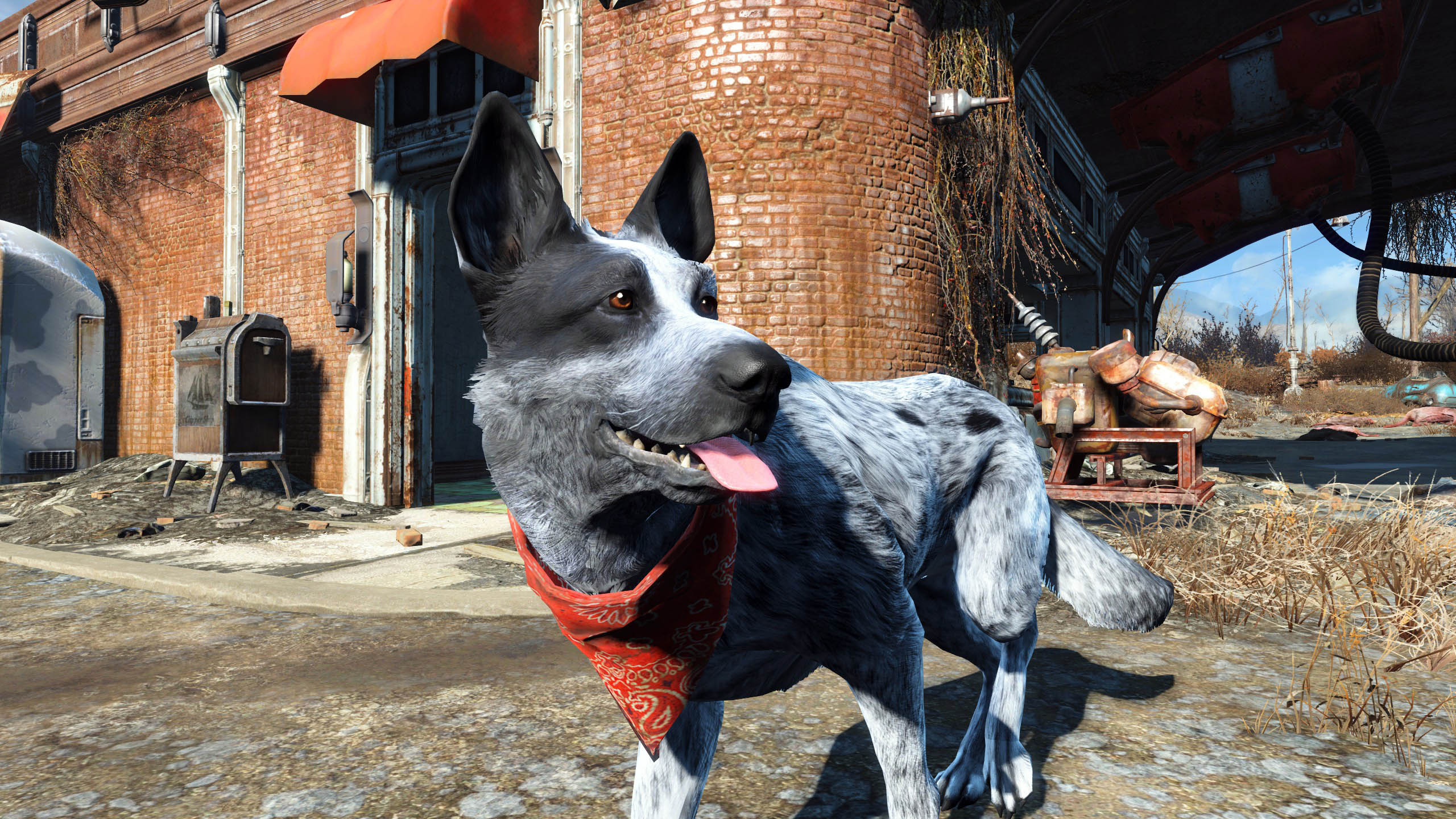 Fallout 4 Fan Mods Their Actual Dog Into The Game