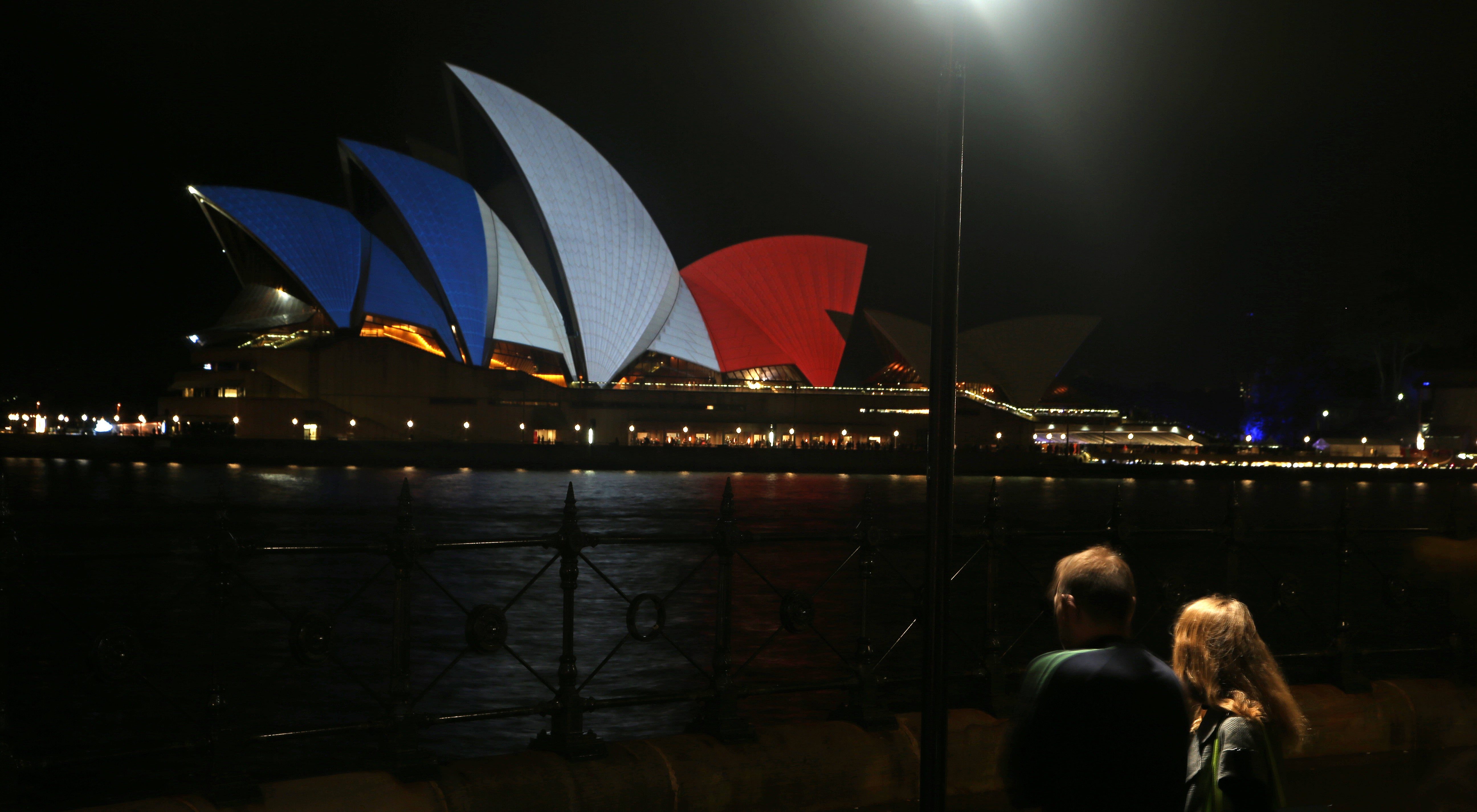 Buildings Around the World Light Up in Solidarity With France