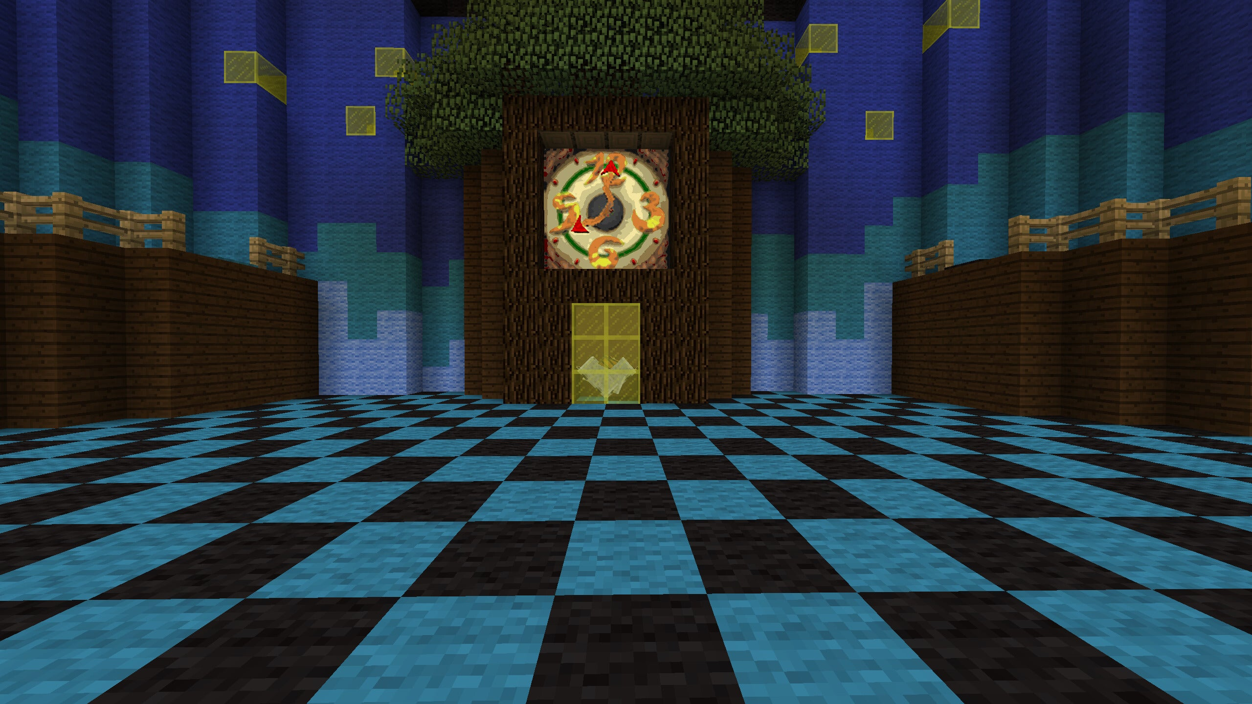 Explore Peach's Castle in Minecraft