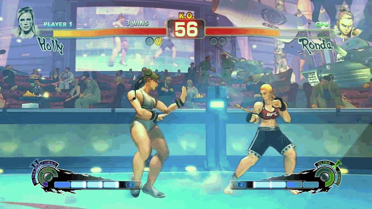 Ronda Rousey Is No Match for Holly Holm in Modded Street Fighter, Either
