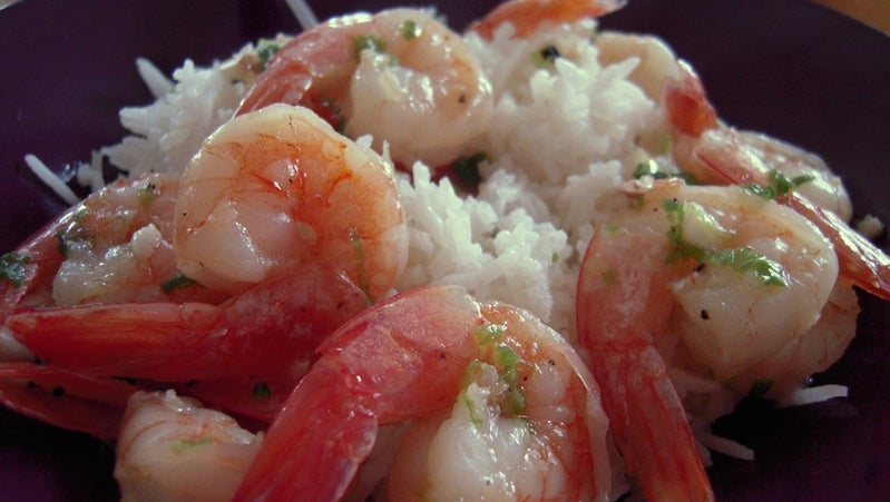 Keep Rice from Sticking Together with Lemon Juice