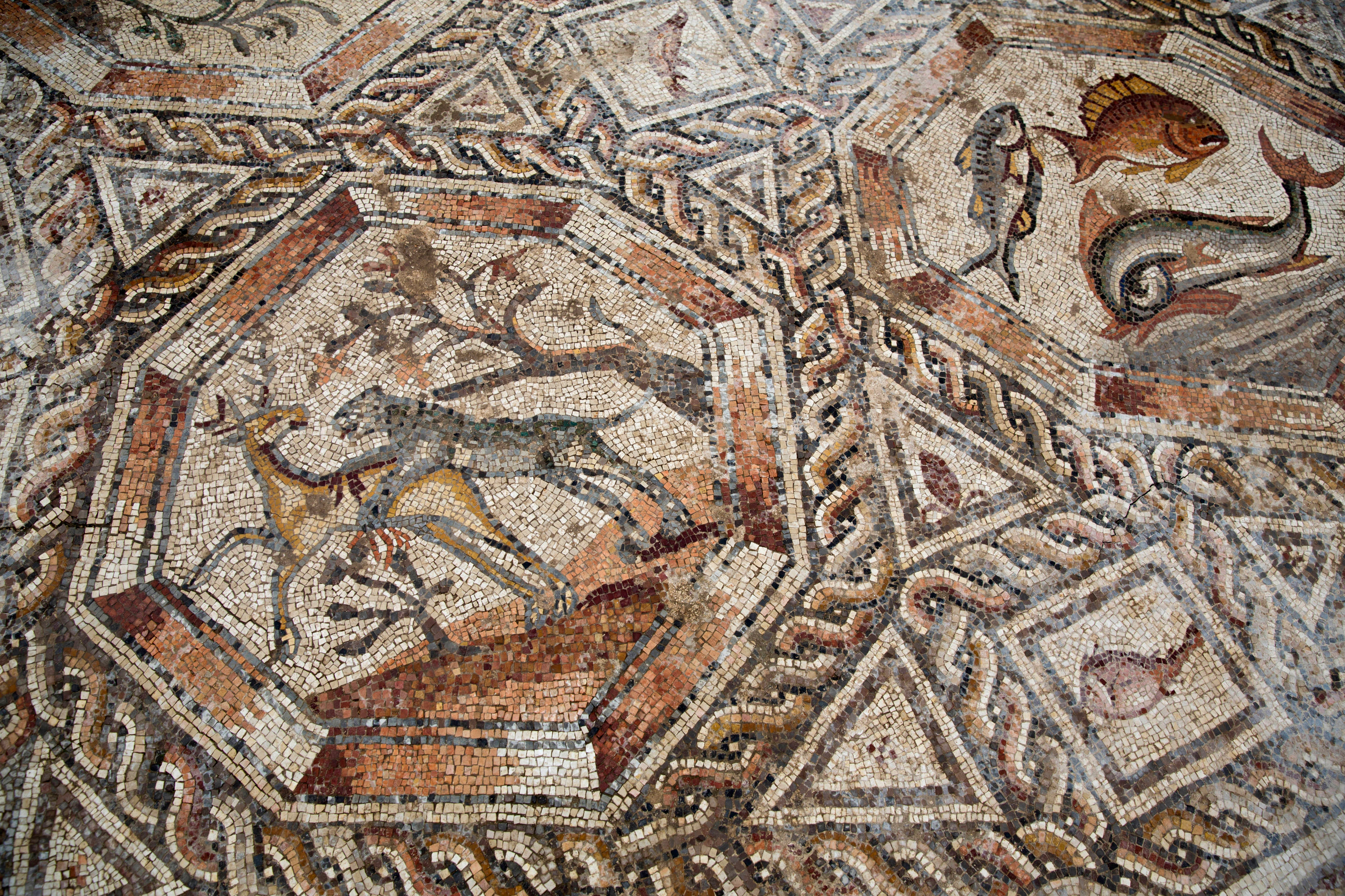 These Huge Roman Mosaics Were Hidden Under City Streets For 1,700 Years