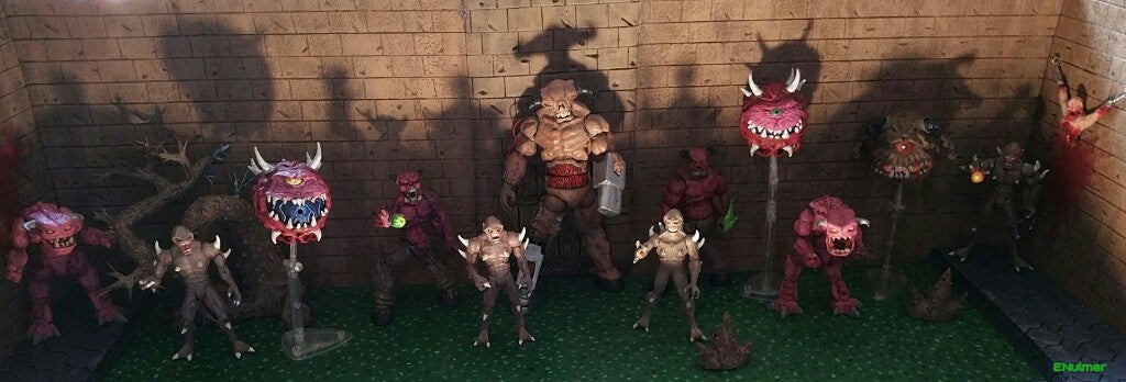 Hey, It's An Army Of Custom Doom Figures