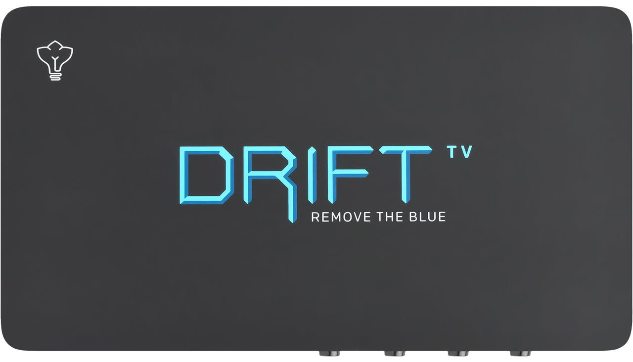 This Box Makes It Easier To Fall Asleep By Slowly Removing Blue Light From Your TV Screen