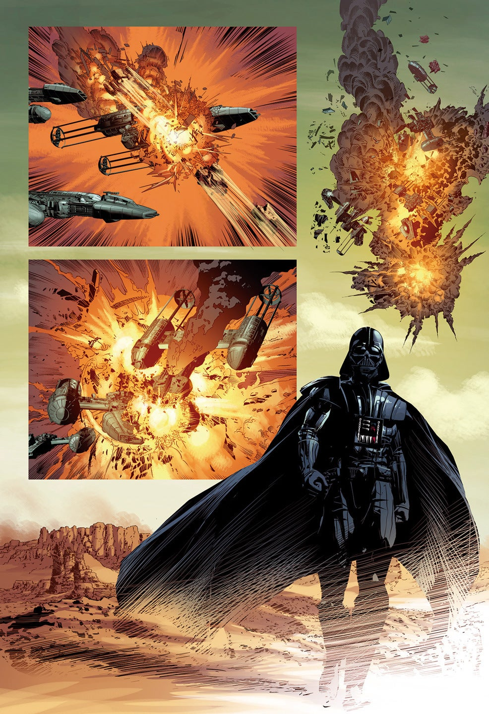 Luke and Vader Face Off in Marvel's Best Star Wars Comic So Far