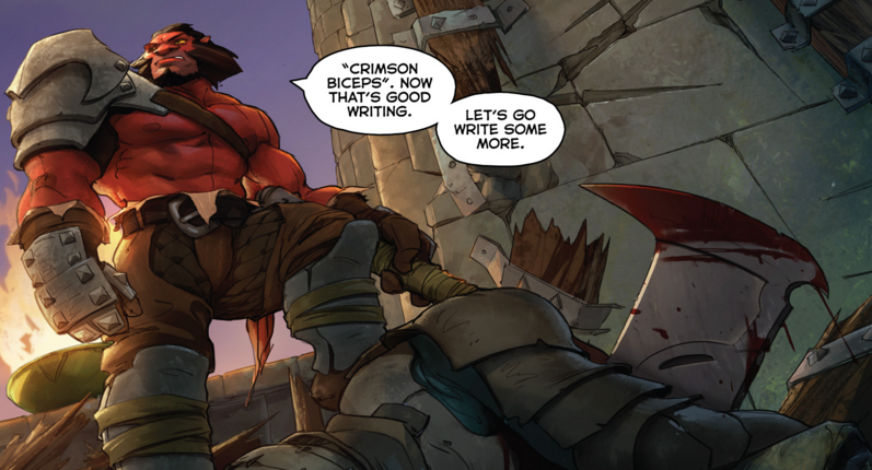 axe attacks in dota 2 s new comic kotaku australia