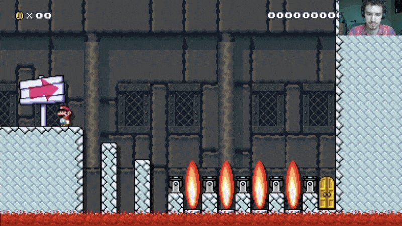 'Bowser' Made A Stage In Mario Maker And It's A Real Bastard