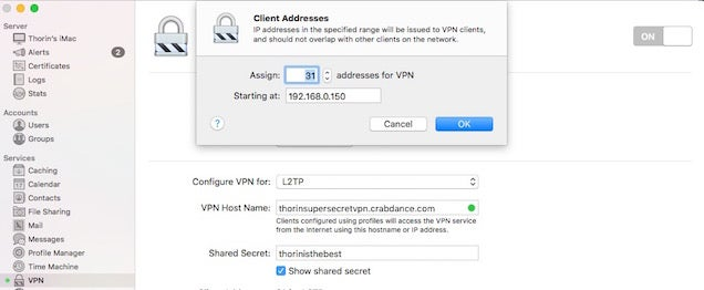 Turn an Old Mac Into a Cheap VPN with OS X Server