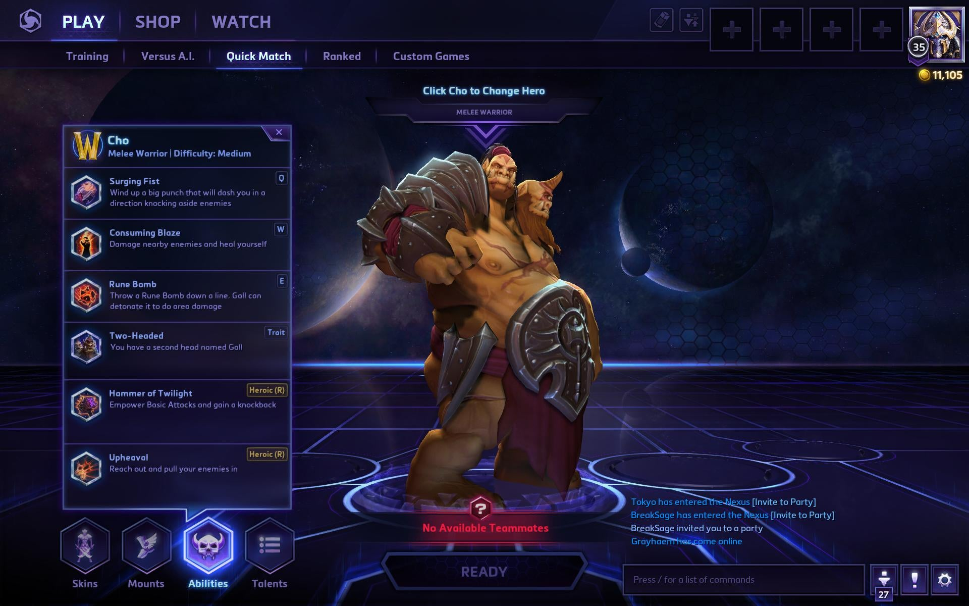 Heroes Of The Storm's New Two-Player Hero Is Whacky, Clumsy Fun