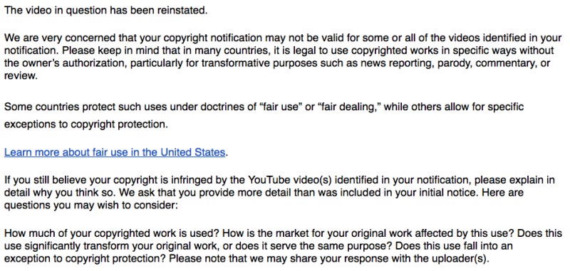 YouTube's Finally Starting To Change Their Disastrous Copyright System