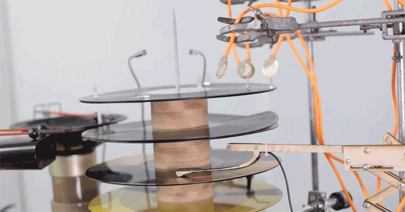 Someone Made a Rube Goldberg Machine for Techno Beats and It's Magical