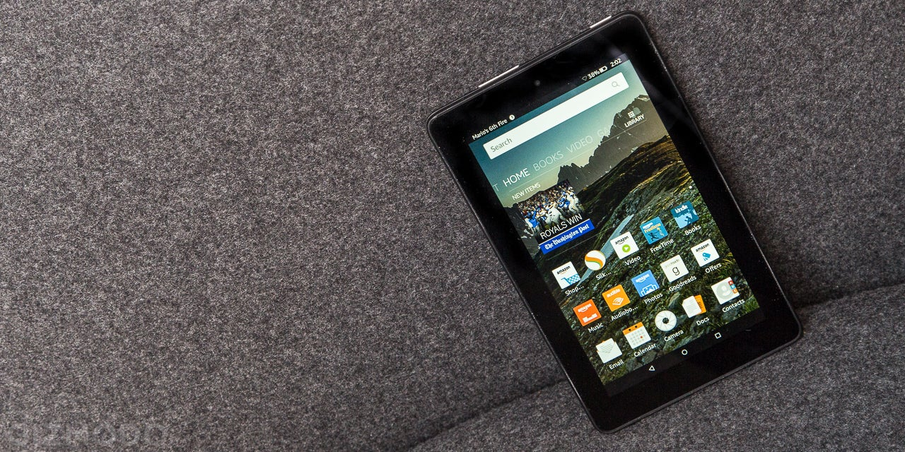 Amazon's $US50 Fire Tablet Sucks, But It's All The Tablet I Need