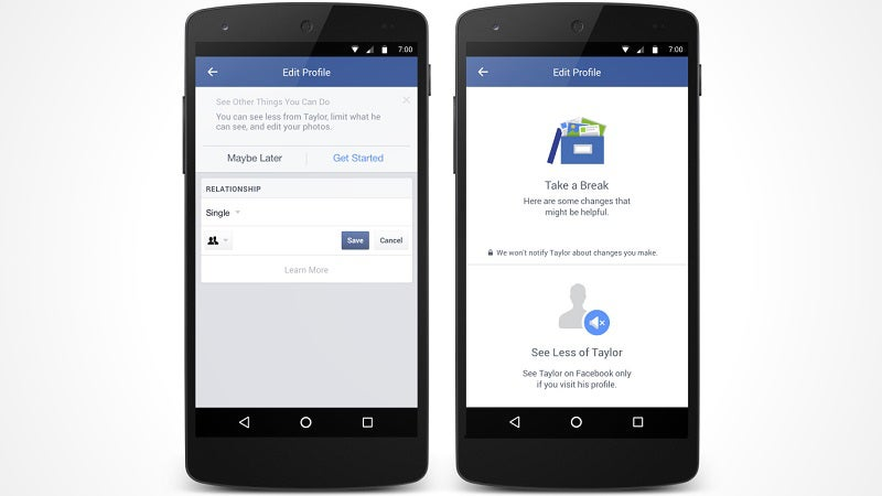 Facebook Rolls Out New Mobile Tools To Make Breakups A Little Easier
