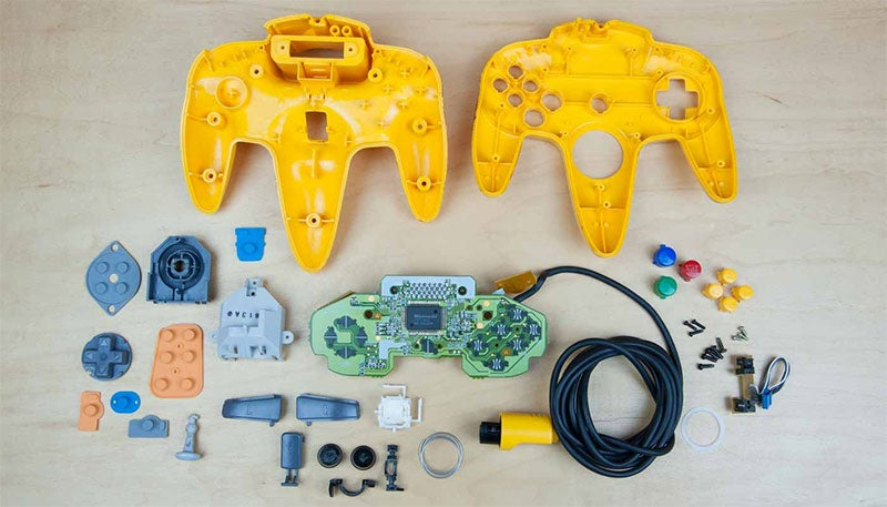 Look Inside Some Classic Nintendo Controllers