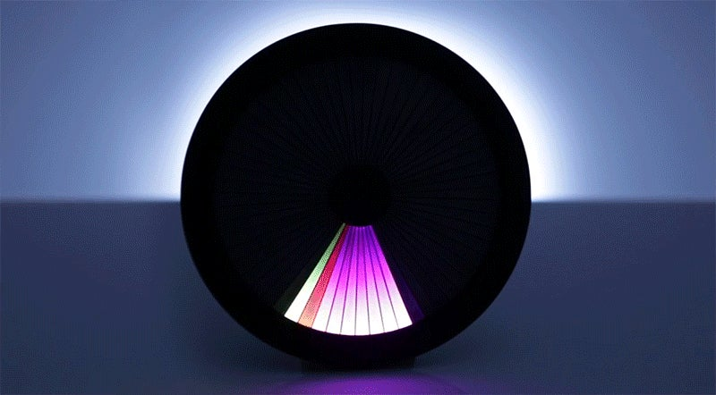 Time Passes As an Ever-Changing Rainbow On This Chromatic LED Clock