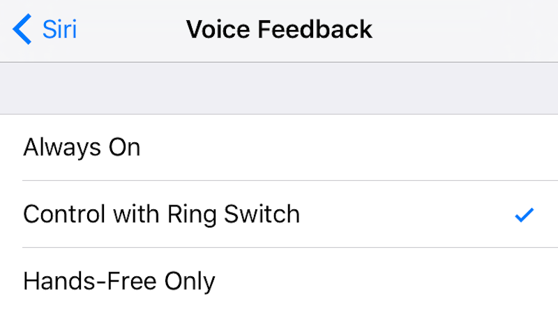 Enable this Setting to Silence Siri with the Mute Switch