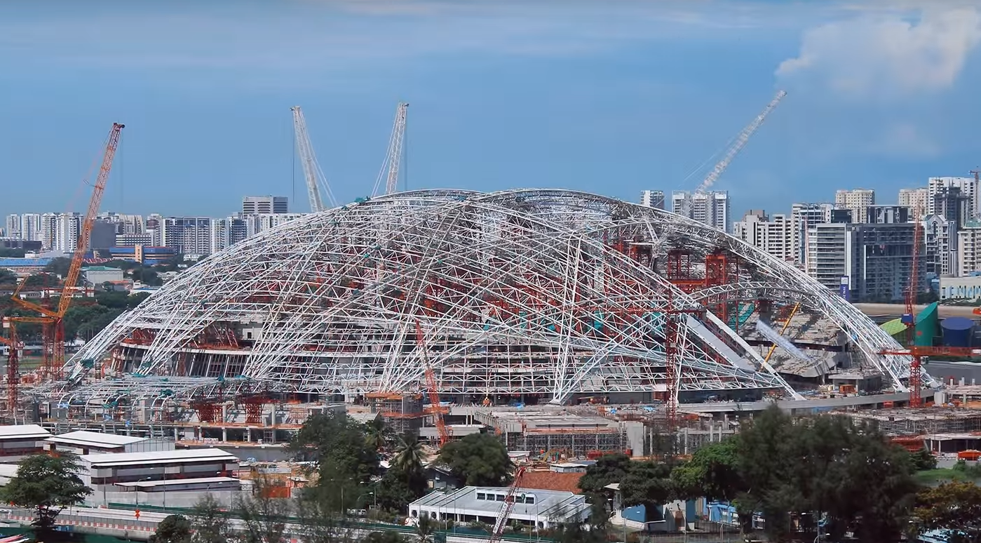 The Largest Dome Ever Built Can Open or Close In 20 Minutes Flat