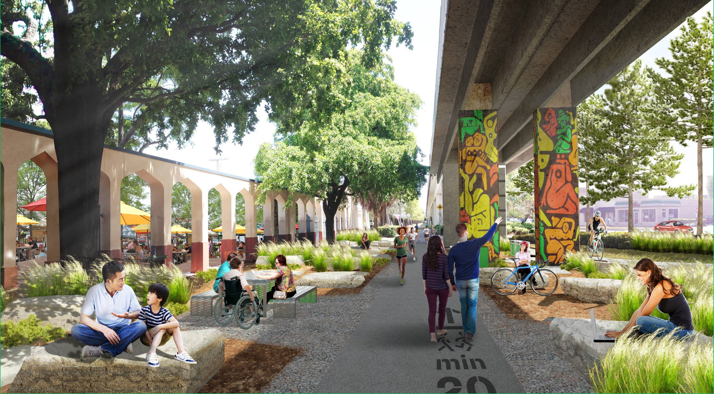 These Parks Are Reclaiming Ugly Urban Underpasses as Public Space