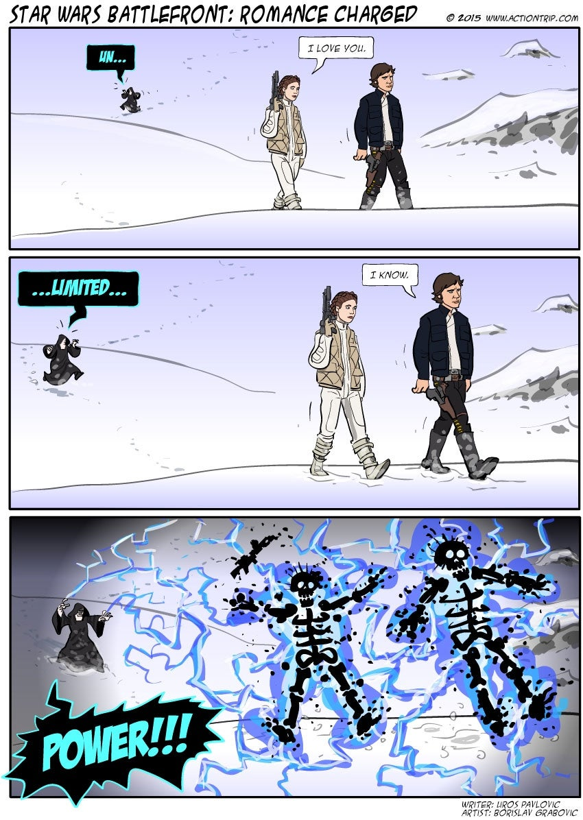 Sunday Comics: Unlimited Power