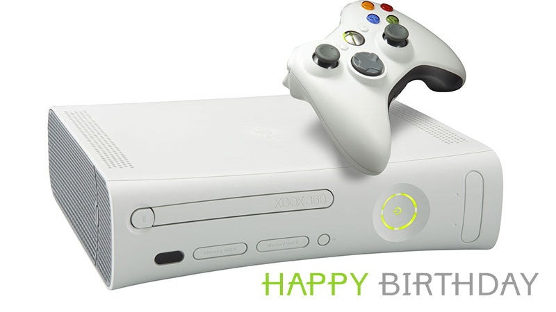 The Xbox 360 Is Ten Years Old Today