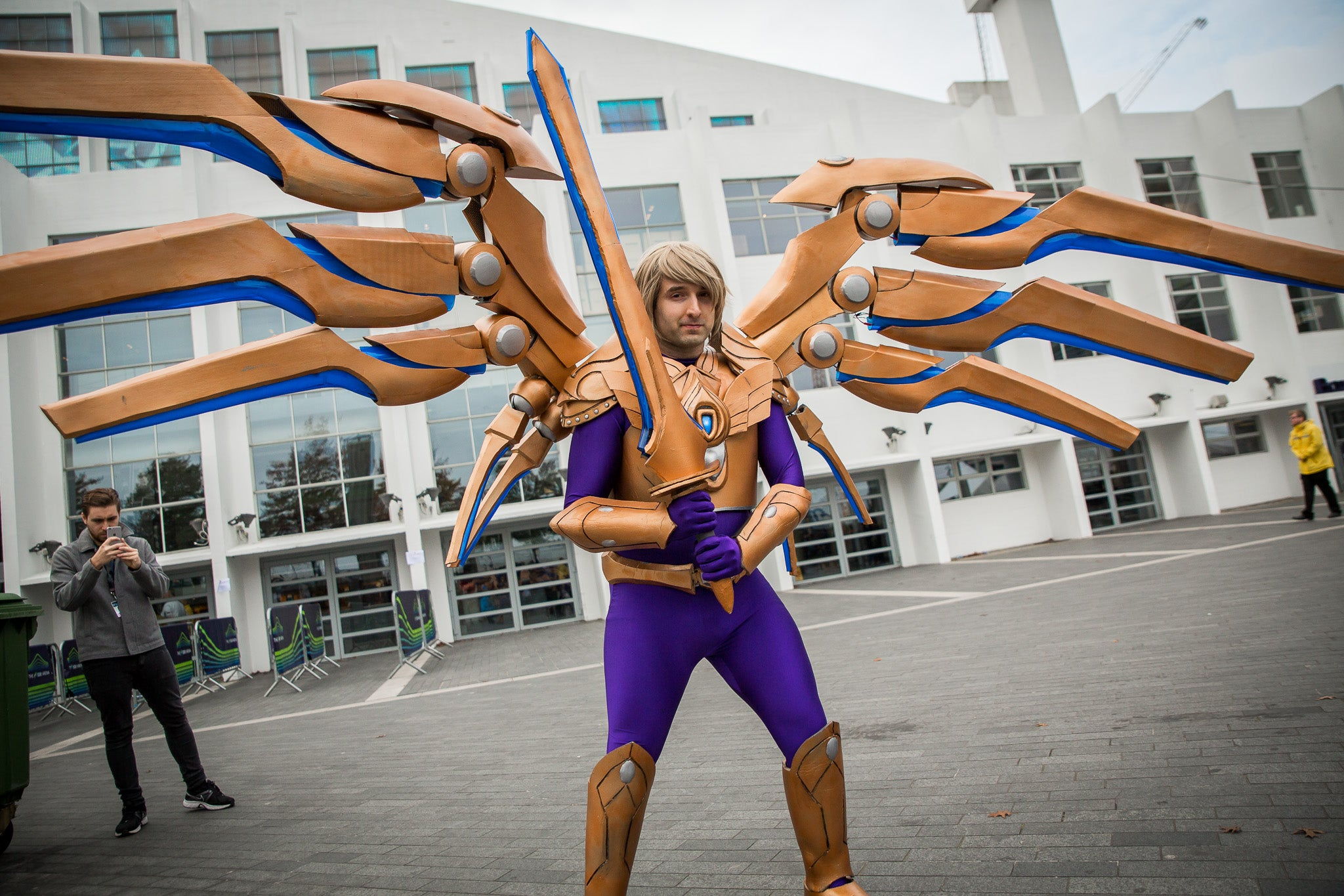 Mechanised League Of Legends Cosplay