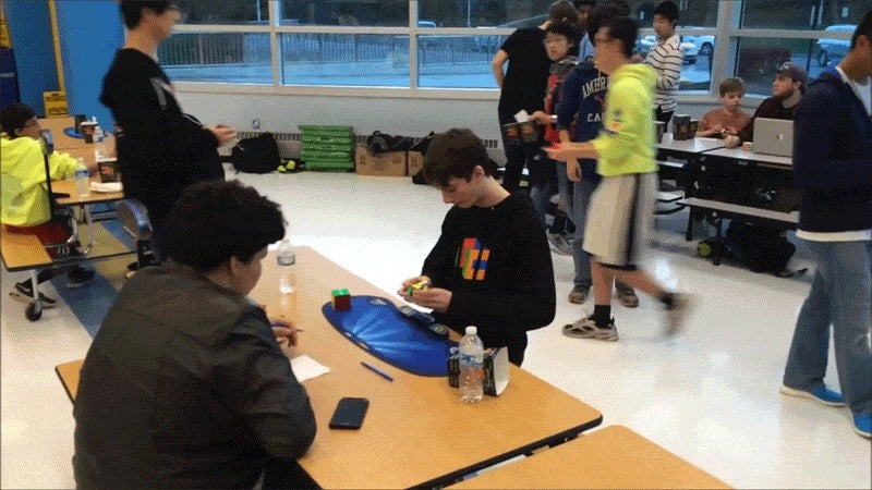 14-Year-Old Sets New Rubik's Cube World Record Of 4.90 Seconds
