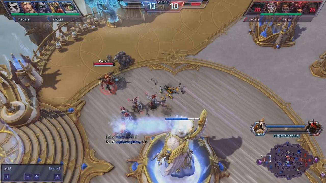 Sneak Attack In Heroes of the Storm Goes Horribly Wrong