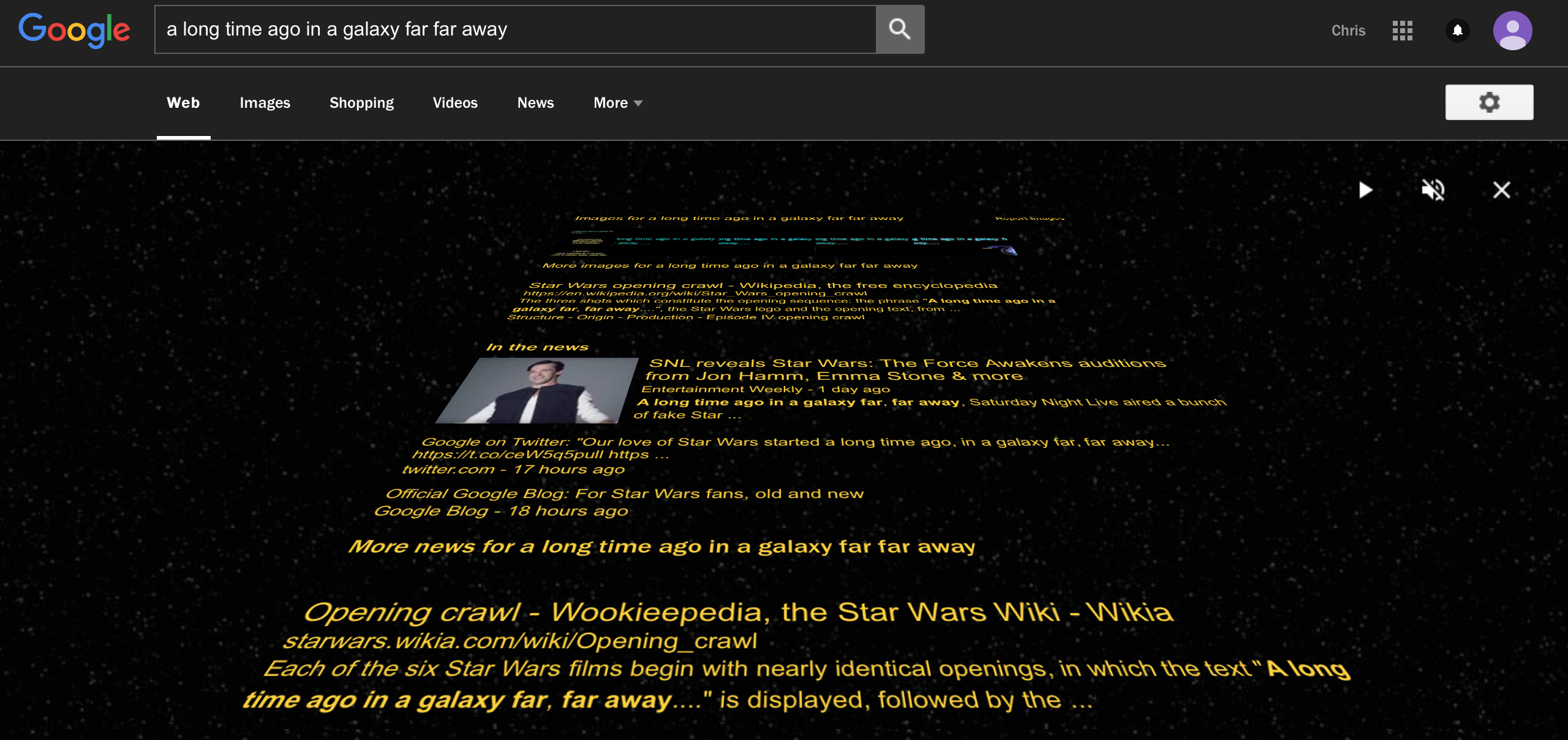 Google's Got a Fantastic New Star Wars Easter Egg