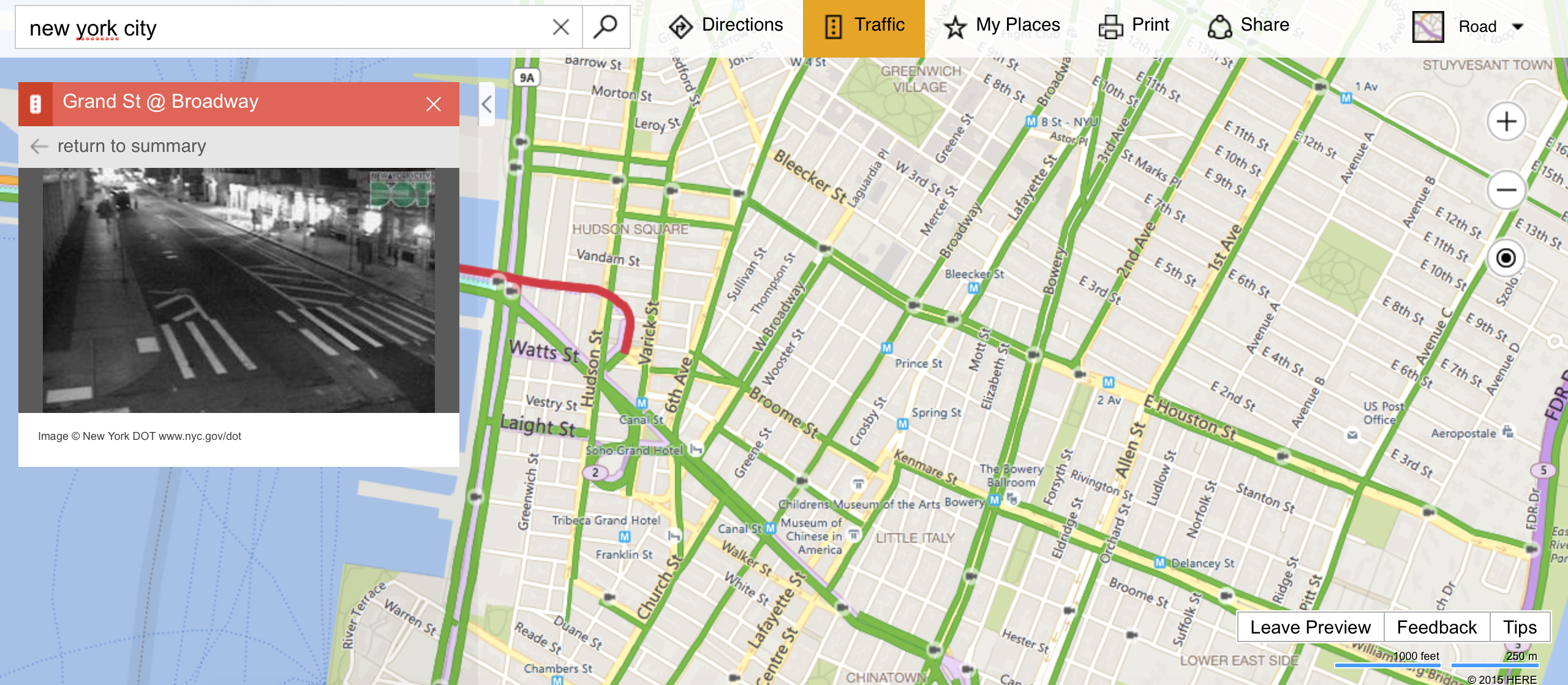Real-Time Traffic Cameras Could Make Me Actually Use Bing Maps