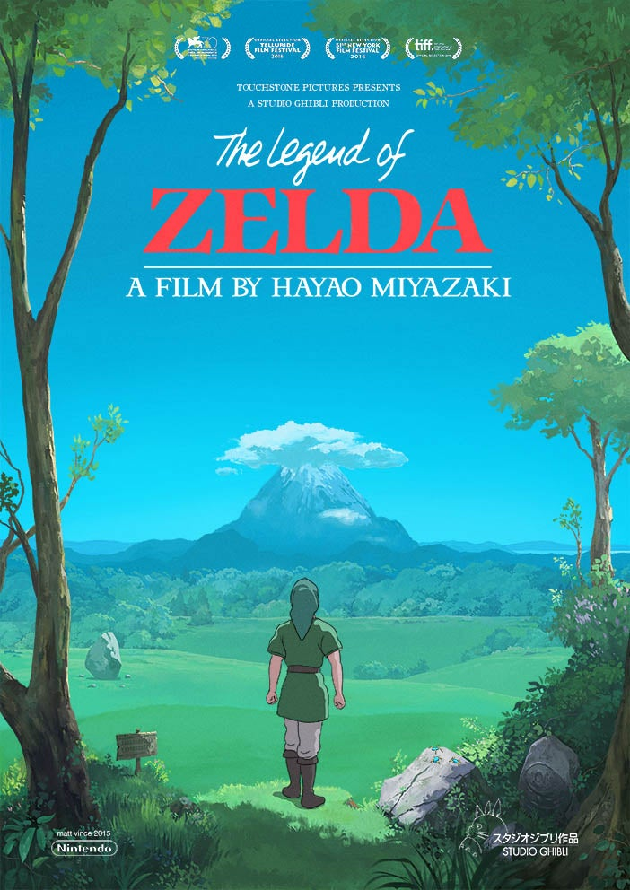If The Legend of Zelda Were A Ghibli Movie