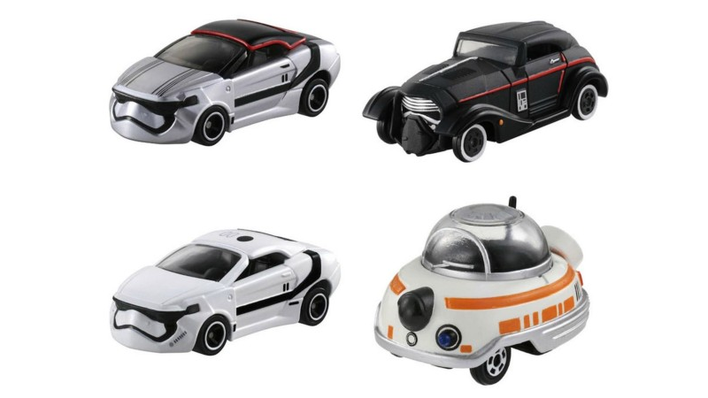 Tomica's Die-cast Star Wars Vehicle Toys Have Gotten Even Wackier