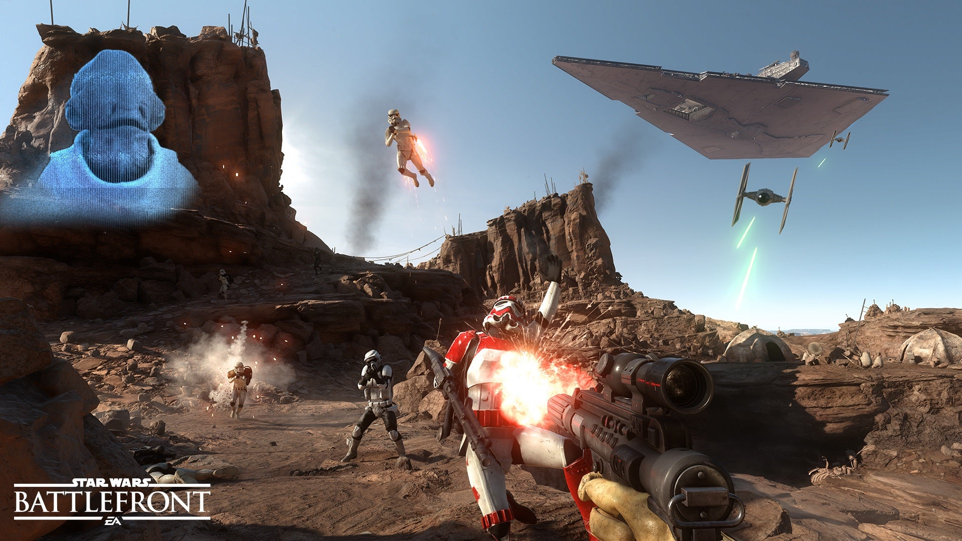 Graphics Mod Makes New Star Wars Game Look Like A New Star Wars Movie