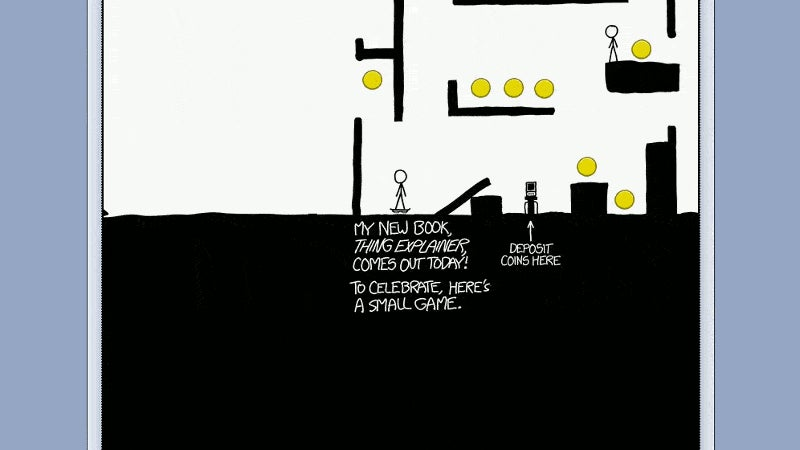 The Latest XKCD is a Cool Little Exploration Game