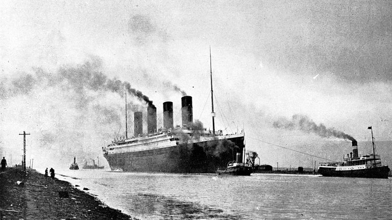 The Sinking of the Titanic Inspired Countless Movies and One Great Invention