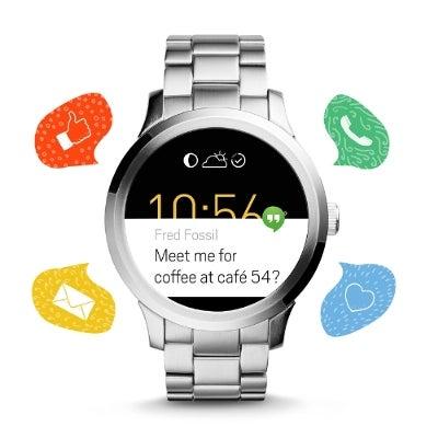 The Q Founder Is Fossil's First Android Wear Watch, Seems Pretty Average