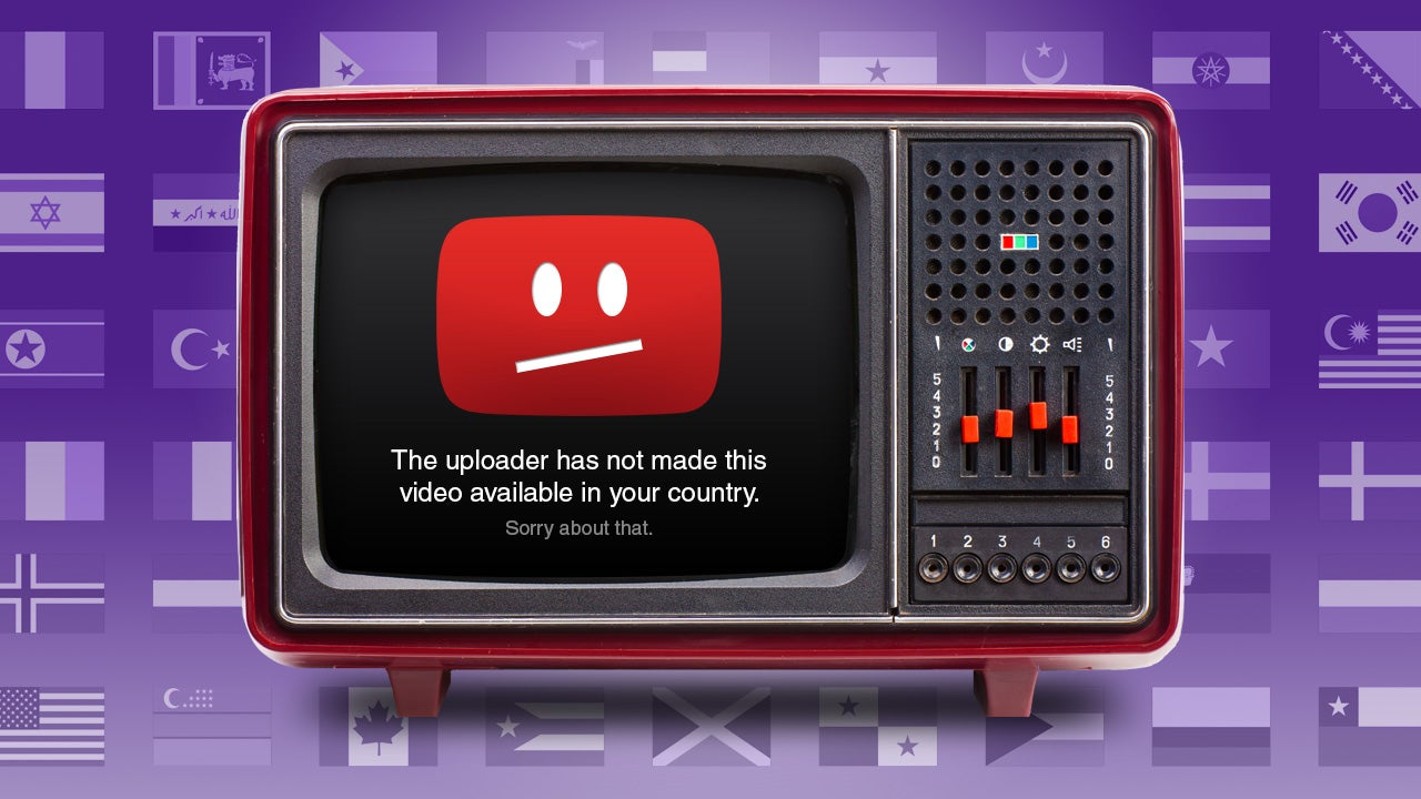 how to watch videos youtube not available in your country