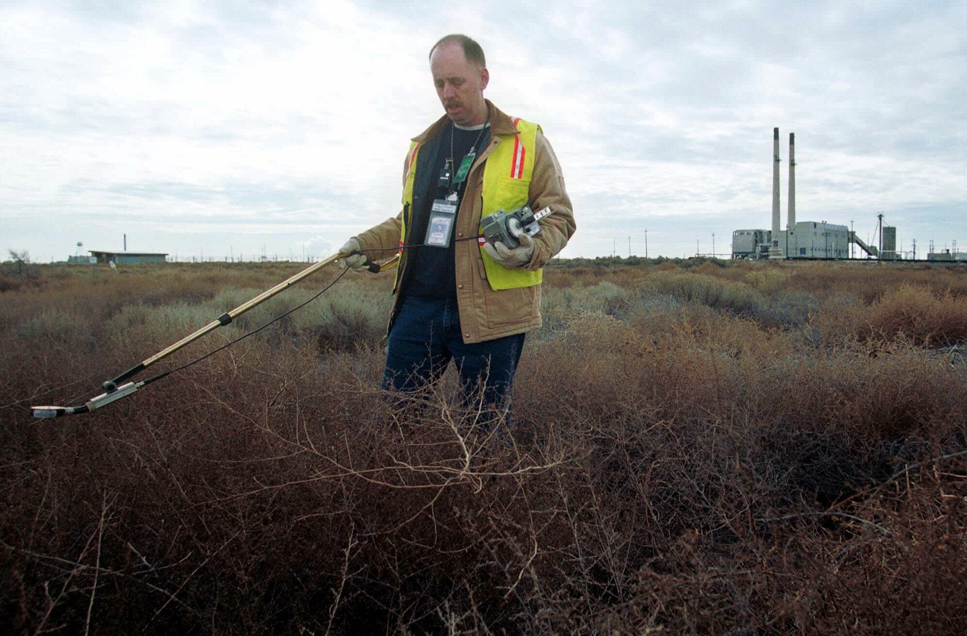 How Tumbleweeds Spread Radiation From Old Nuclear Sites