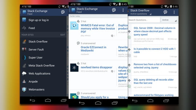 Stack Exchange Releases Android App, Answers Questions on the Go