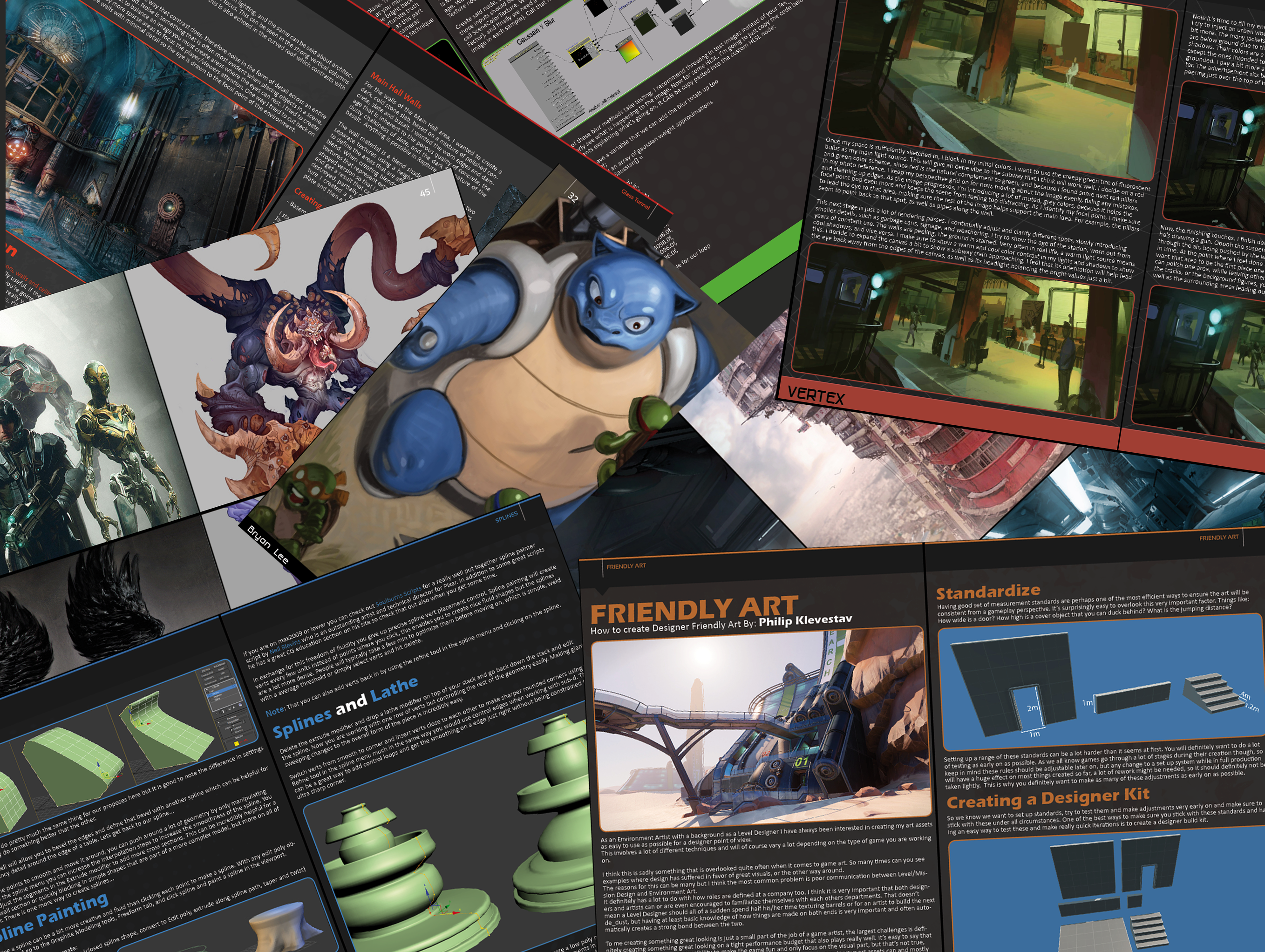 Game Artists Will Show You How To Be A Game Artist (For Free!)