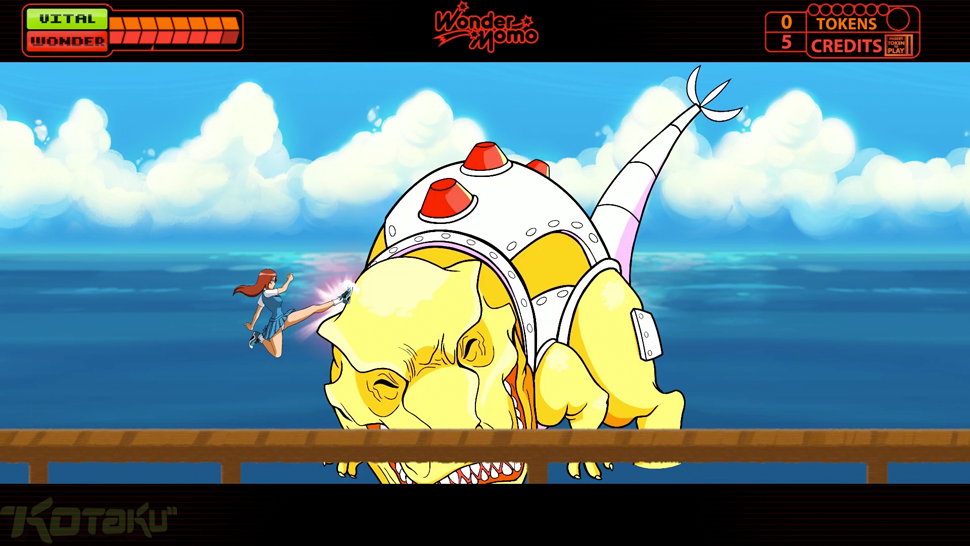 The New Wonder Momo Game Hurts Much Less Than The 1987 Original
