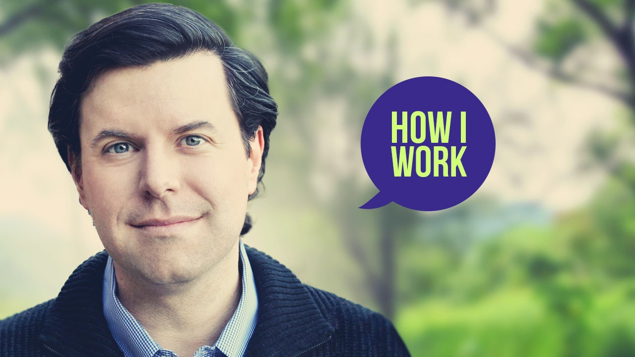 I'm Charles Duhigg, and This Is How I Work