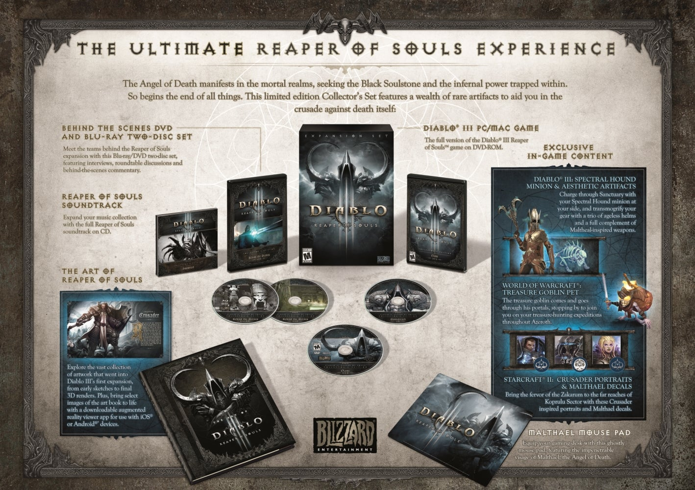 This Is The Diablo III: Reaper Of Souls Collector's Edition