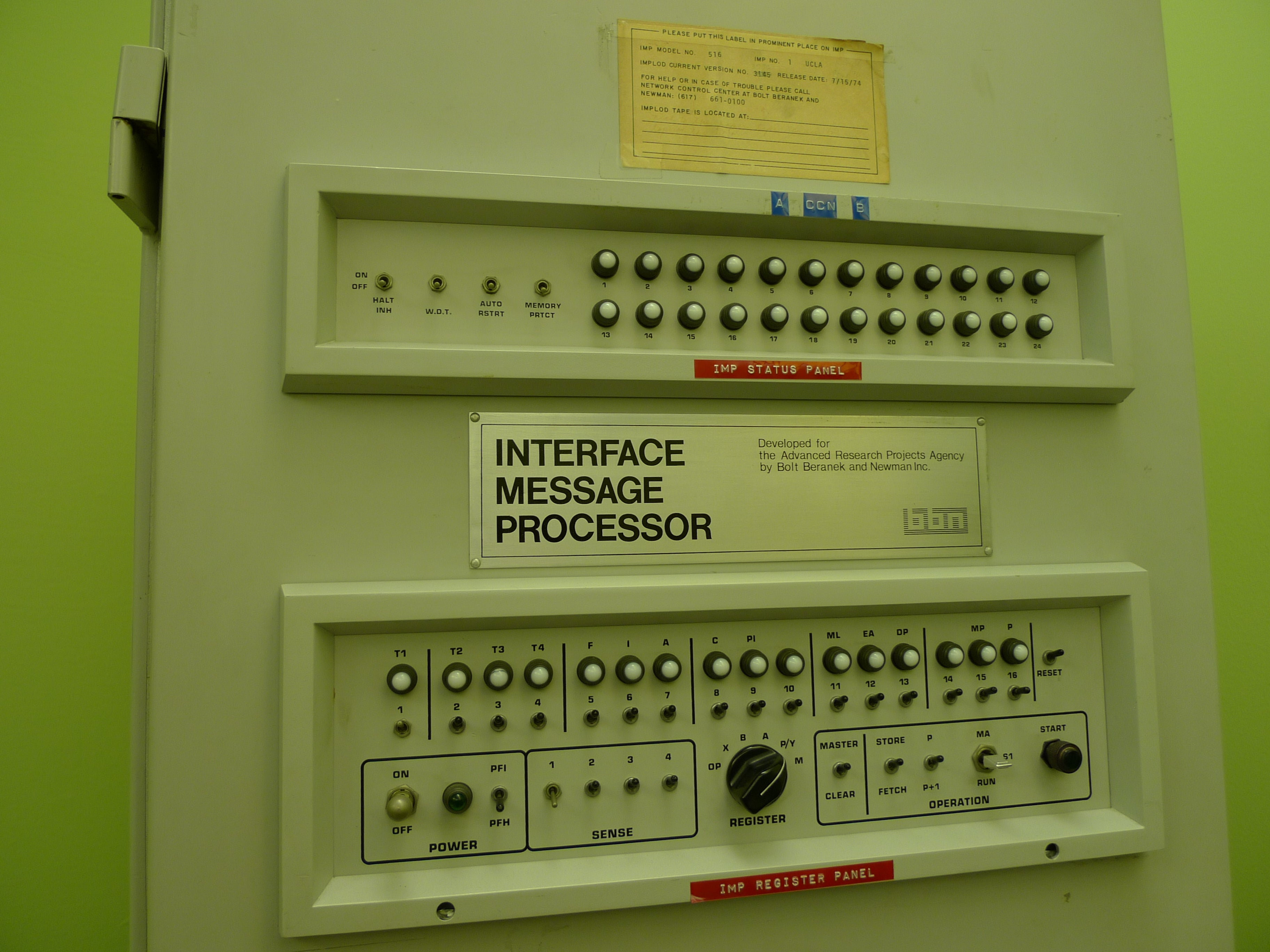 This Is The Room Where The Internet Was Born