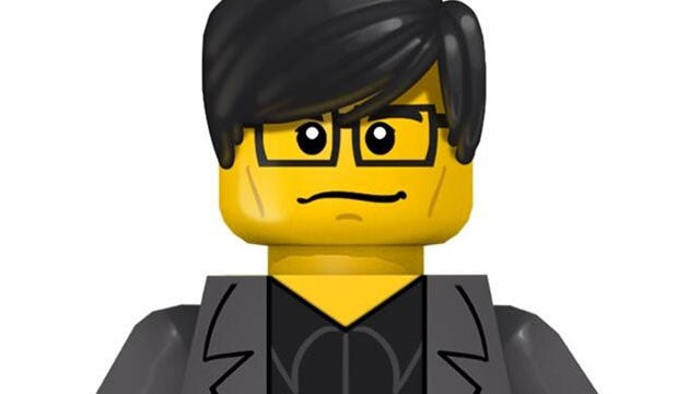 Metal Gear Creator Hideo Kojima, Transformed Into LEGO