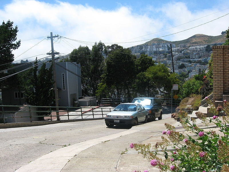 Tour the Nine Steepest Residential Streets in America