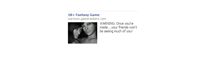 Gamers Get Pretty Gross Facebook Ads