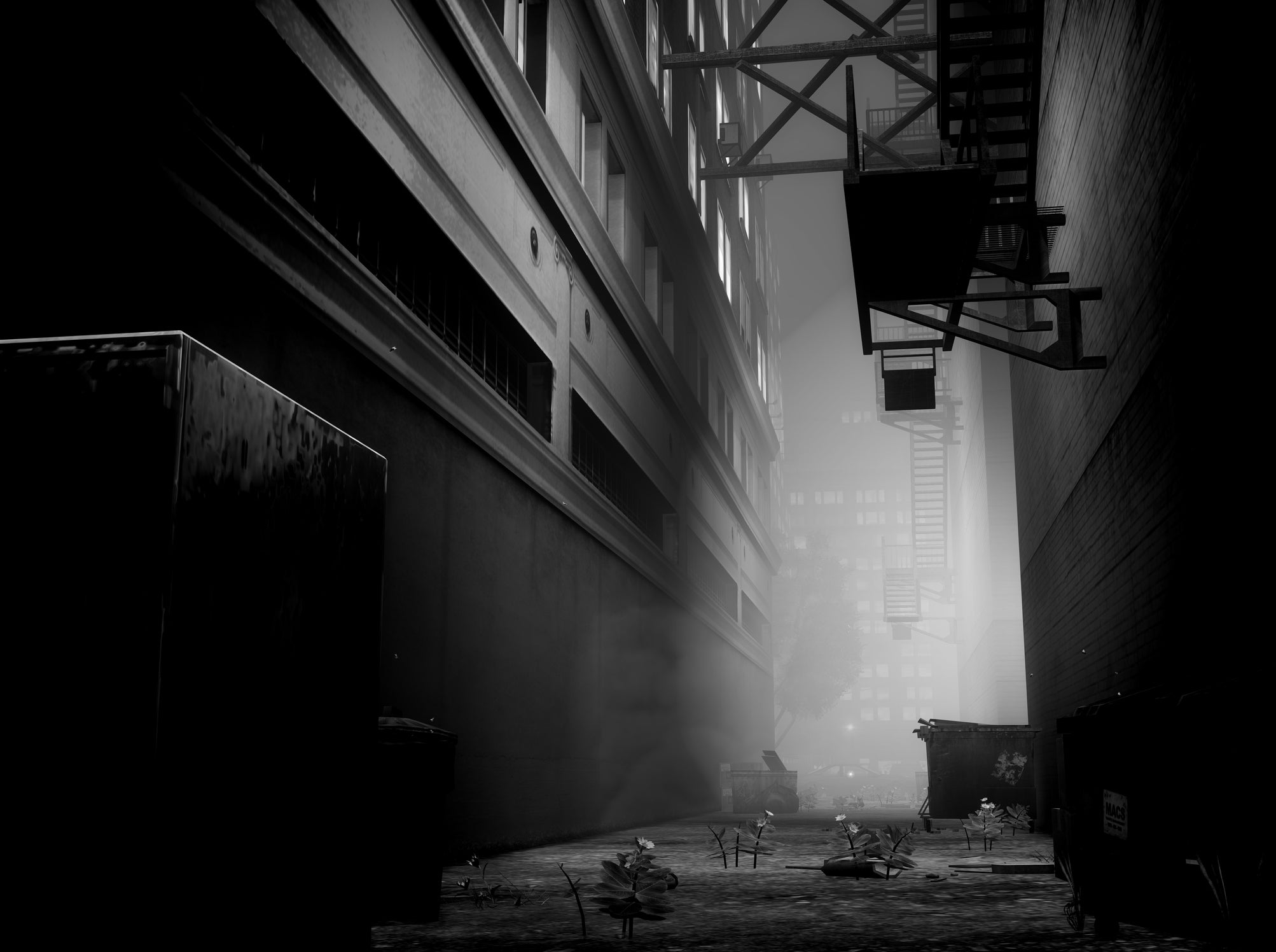 Grand Theft Auto IV Looks Marvellous in Black and White