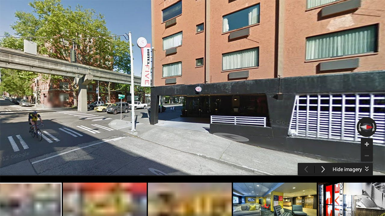 Use Google Street View to Find the Best Room Locations in a Hotel
