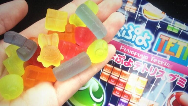 Tetris Reborn as a Chewy Japanese Gummy Snack